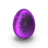 Easter Egg Purple Foil PNG & PSD Images