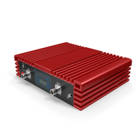 Cell Phone Signal Booster Red PNG & PSD Images