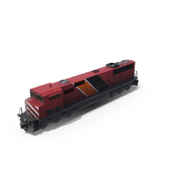 Cargo Train Engine PNG & PSD Images