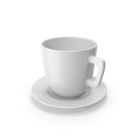 Cup With Plate PNG & PSD Images