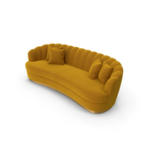 Brabbu Ocher Sofa PNG & PSD Images