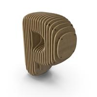 Wood symbol P PNG & PSD Images