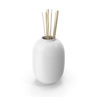 Decorative Vase White PNG & PSD Images