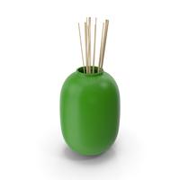 Decorative Vase Green PNG & PSD Images