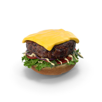 Burger Open PNG & PSD Images
