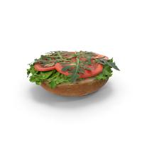 Burger Bun No Patty PNG & PSD Images