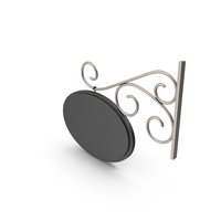 Silver Forged Signboard PNG & PSD Images