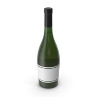Champagne Bottle Black PNG & PSD Images