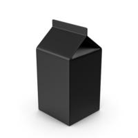 Cardboard Black Package PNG & PSD Images