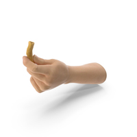 Hand Holding a Cone Shaped Corn Snack PNG & PSD Images