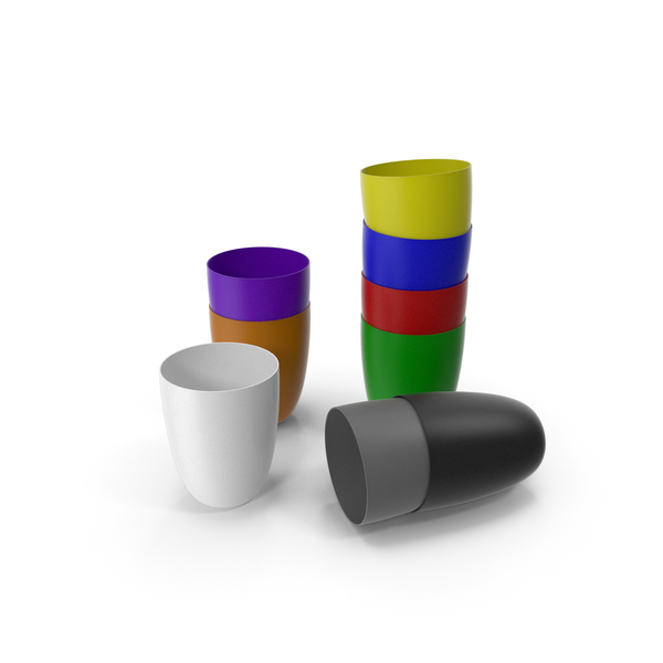 Plastic Cups PNG & PSD Images