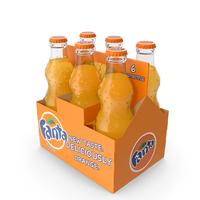 Fanta Bottle Package PNG & PSD Images