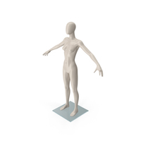 Female Mannequin T-Pose PNG & PSD Images