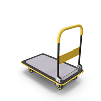 Folding Handle Trolley PNG & PSD Images