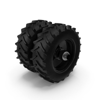 Good Year Tractor Twin Tire PNG & PSD Images