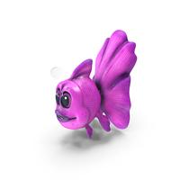 Pink Cartoon Goldfish PNG & PSD Images