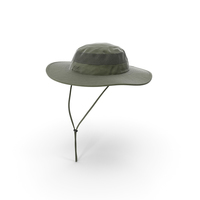 Green Outdoor Fishing Hat PNG & PSD Images
