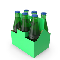 Green Soda Bottle Package PNG & PSD Images