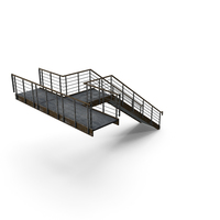 Metal Staircase PNG & PSD Images