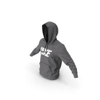 Grey Hoodie Nike Raised Hood PNG & PSD Images