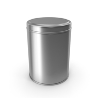 Kitchen Metal Jar Silver PNG & PSD Images