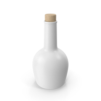 Oil Bottle White PNG & PSD Images
