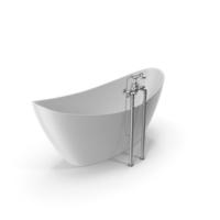 Vintage Bathtub Hylton White Coated PNG & PSD Images