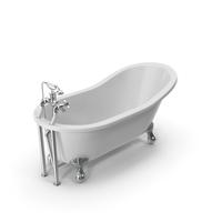 Vintage Bathtub Kent White Coated PNG & PSD Images