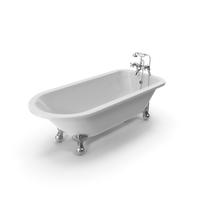 Vintage Bathtub Essex White Coated PNG & PSD Images