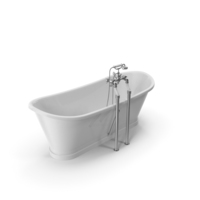 Madeira Bathtub White Coated PNG & PSD Images