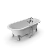 Buckingham Bathtub White Coated PNG & PSD Images