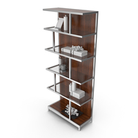 Lexington Kelly Modern Bookcase PNG & PSD Images