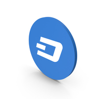 Dash Coin Icon PNG & PSD Images