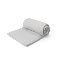Rolled Baby Blanket PNG & PSD Images