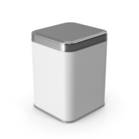 Square Metal Jar PNG & PSD Images