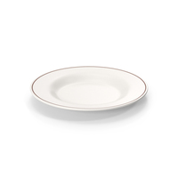 Ceramic Plate With Line PNG & PSD Images