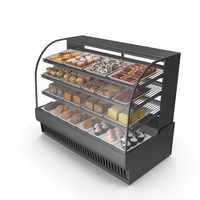 Pastry Case PNG & PSD Images