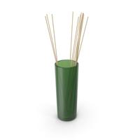 Decorative Glass Tube Vase PNG & PSD Images