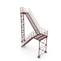 Industrial Stairs PNG & PSD Images