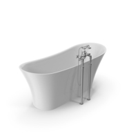 Vintage Bathtub Holywell White Coated PNG & PSD Images