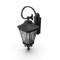 Street Wall Light Black PNG & PSD Images
