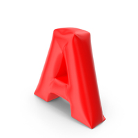 Balloon Letter A PNG & PSD Images