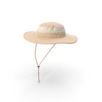 Khaki Fishing Hat PNG & PSD Images