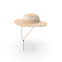 Khaki Outdoor Fishing Hat PNG & PSD Images