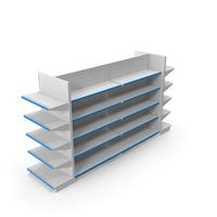 Supermarket Shelves Display PNG & PSD Images