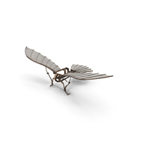 Leonardo da Vinci Glider PNG & PSD Images