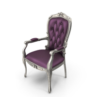 Louis XV Chair PNG & PSD Images