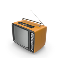 Retro TV and Radio Receiver PNG & PSD Images