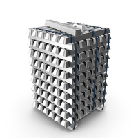 Metal Aluminium Blocks PNG & PSD Images
