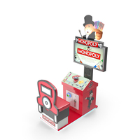 Monopoly Arcade Game PNG & PSD Images